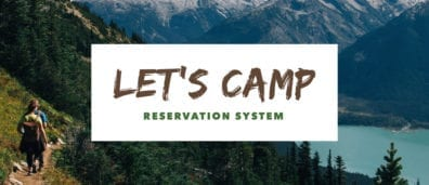 Let's Camp Reservation Software
