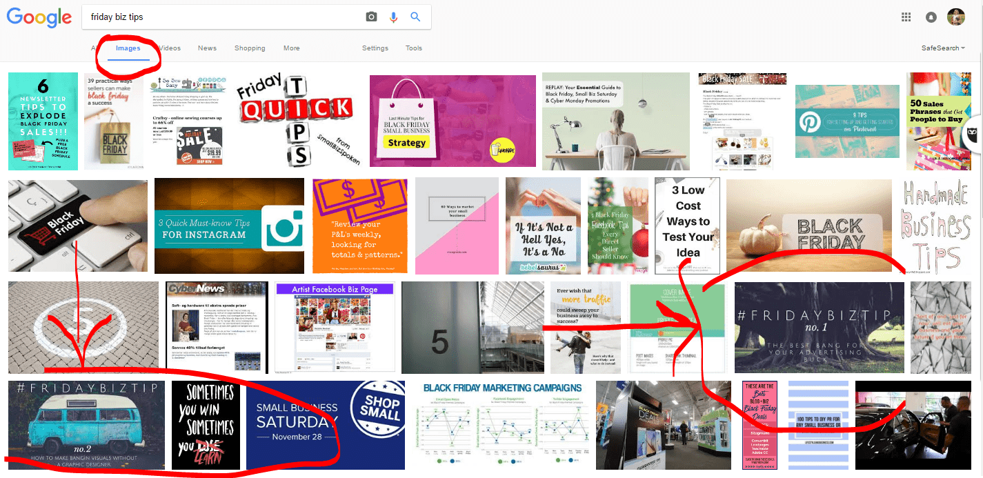 helping google read your photos