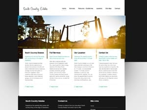 Web Design for South Country Estates