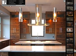 Web Design for Kitchen Designs by Delta