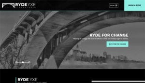 Ryde Website Home Page