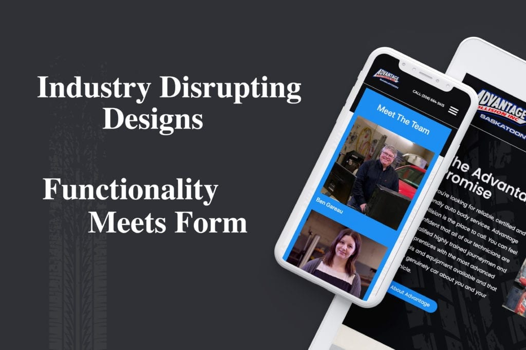 industry disrupting designs