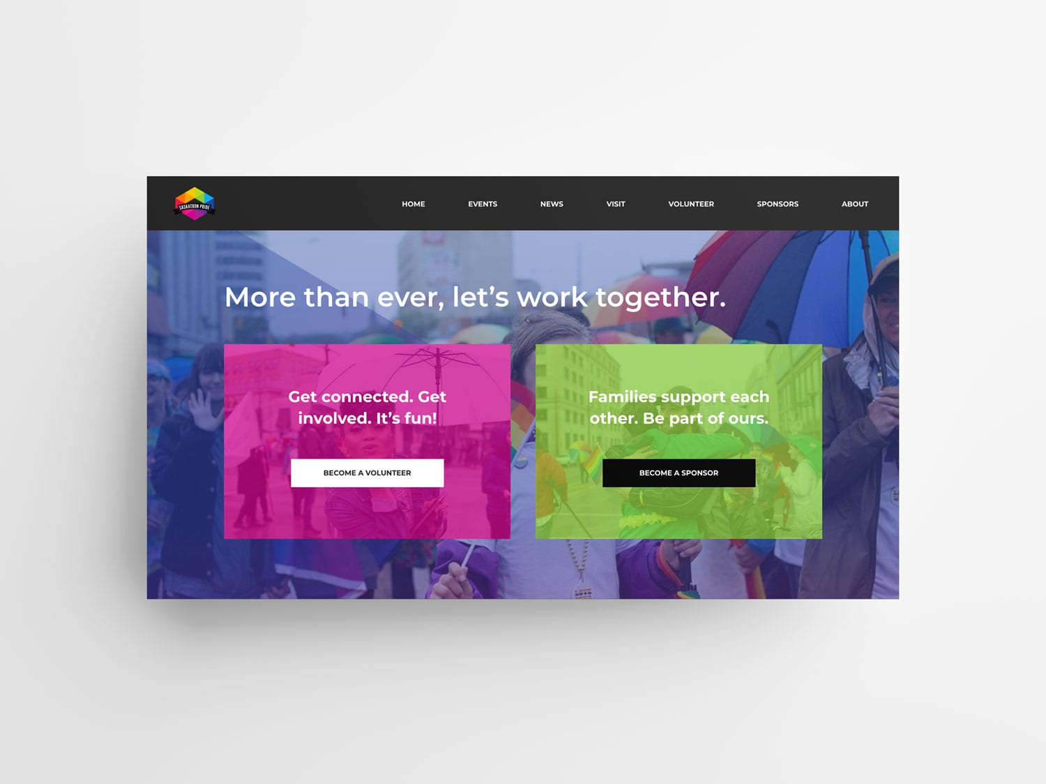 Pride Website Home