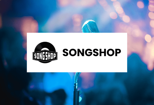 Song shop logo