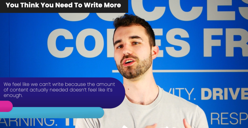 Why we need to write more